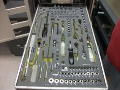 A tool drawer to die for