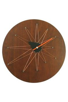 George nelson cooper asymmetric clock