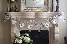 Newspaper-themed Baby Shower