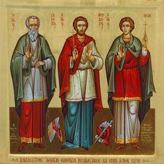foto van ΜΟΝΑΣΤΗΡΙΑΚΑ. All Saints, Leo, Painting, Icons, Saints, All Saints Day, Painting Art, Symbols, Paintings