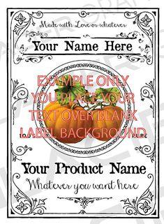 Blank Vegetables Canning Label Vintage Vegetable Tags YOU ADD TEXT Vegetables Digital Download Canning Labels Rustic Vegetable Gift Tag