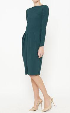 Le Petite Robe di Chiara Boni Green Dress | VAUNTE