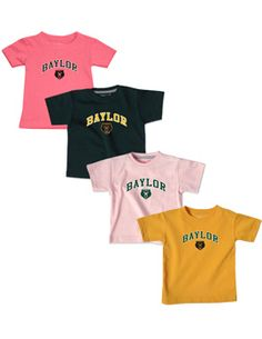 So tiny! So cute! #Baylor Infant T-Shirt