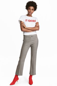 Ankle-length Pants Model