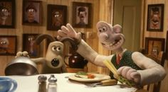Wallace and Gromit #stopmotion