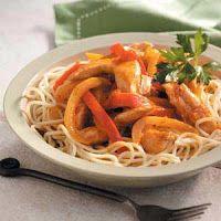 MSPI Mama: Chicken Fajita Spaghetti