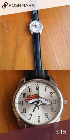 Denver Broncos watch Great condition Accessories Watches Denver Broncos, Watches, Wristwatches