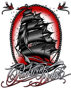 Parkway drive is really influential in my life, make my pirate ship tattoo their design