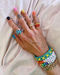 Edgy Nails, Funky Nails, Swag Nails, Nail Design Stiletto, Nail Design Glitter, Hippie Nails, Mens Nails, Nails Only, Fire Nails