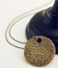 Amazon: Love Beyond the Moon & Stars Necklace, just $3.60 shipped!