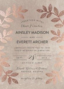 cool 41 Stunning Rustic Winter Wedding Invitations Ideas  http://viscawedding.com/2017/11/23/41-stunning-rustic-winter-wedding-invitations-ideas/