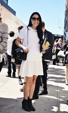 New York Fashion Week Street Style by Tiffany  at Clothed Much Modest Fashion Blog