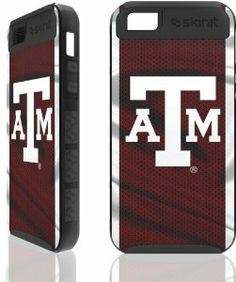 Skinit Texas A&M Apple iPhone 5 Cargo Case by Skinit. $27.99. If you are the on the go type and need extra protection from more than the usual daily grind, the Cargo Case offers greater device protection with minimal bulk. Custom fit to your device and styled by U with endless decoration possibilities.