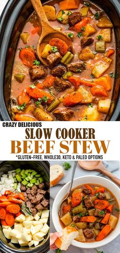 Paleo Stew, Keto Beef Stew, Beef Stew Crockpot Easy, Slow Cooker Beef, Homemade Beef Stew, Low Carb Slow Cooker, Stew Meat Recipes, Slowcooker Beef Stew, Low Calorie Stew