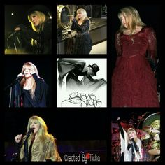 Stevie Nicks Collage Created By Tisha 08/30/15
