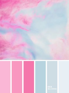 19 The perfect pink color combinations { Pink + Blue Scheme pink color schemes - Pink Things Pink Palette, Blue Colour Palette, Color Schemes Colour Palettes, Color Combos, Pink Color Combination, Color Swatches, Pantone, Color Inspiration, Color Theory