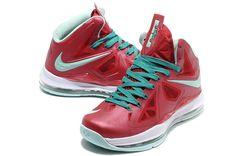 big sale c0d77 91272 Lebron shoes 2013 Lebron 10 PS Christmas 541100 600 Nike Tops, Nike High  Tops,