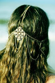 Bohemian Headpiece - Photograph by Chanel Baran Photographics <3 Bohemian - Tribal - Gypsy <3