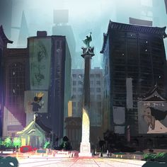 victoriaying:  #bighero6 concept art! So proud to have been a part of this film! Congrats to the team!
