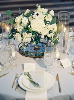 Wedding centerpieces flowers: When planning table seating arrangements, make sure that even numbers of guests will probably be at every table. Also group tables by age, this may give people things they are able to focus on. Anemone Wedding, Floral Wedding, Wedding Flowers, Lake Como Wedding, City Hall Wedding, Romantic Wedding Centerpieces, Flower Centerpieces, Wedding Reception Planning, Wedding Venues