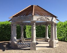 Stone gazebos are stunning! Read our latest blog for inspiration! #Stone #StoneGazebo