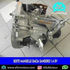 Boite manuelle Dacia Sandero 1.4 8V ➡️34000 Kms certifiés ➡️Référence boite JH 3075 ➡️Pièce d´origine DACIA