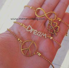 Dettagli GOLD  Nuova collezione bracciali www.memelabblog.com