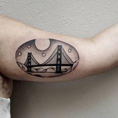 Golden Gate Bridge done @akaberlin