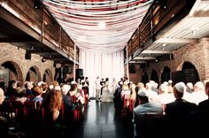 Love the draping decor. The Foundry in NY; wish this venue lived in Minnesota.