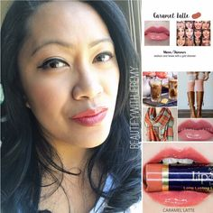 Whats on my LIPS? Caramel Latte Lipsense with Orchid Gloss! Browse my IG for available colors and glosses! IG: beautify_with_jeremy