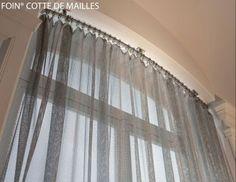 rideaux en cotte de mailles cotte de mailles pinterest. Black Bedroom Furniture Sets. Home Design Ideas