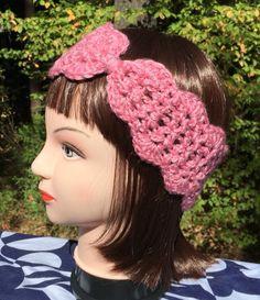 A personal favorite from my Etsy shop https://www.etsy.com/listing/250834465/crochet-headband-ear-warmer-turban-teen
