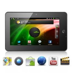 """# List Price:  US$214.00  Price:        * US$        € £ CA$ AU$ HK$ CHF ¥    138.80  Introducing this tablet pc """"Dropad"""" that is a 7 inch Android 2.3 Tablet will impress you in every way with its tons of amazing features for an amazing price. The latest and awesomest tablet around that comes with Android 2.3, Sumsung 1.2Ghz CPU, WiFi, a 7 inch capacitive touch screen, HDMI output, Camera, 3G extend support and powerful hardware to make it all happ."""