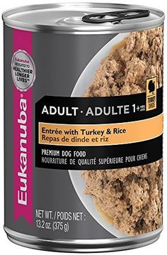 EUKANUBA Adult EntrÃÂe with Turkey and Rice Canned Dog Food 13.2 Ounces by Eukanuba *** Check this awesome product by going to the link at the image. (This is an affiliate link) #DogFood