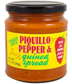 Trader Joe's Piquillo Pepper & Quinoa Spread 10.5 oz, $2.99