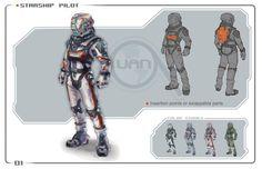 ArtStation - Starship Pilot, Daniel Sarmiento Chuquisengo