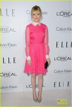Emma Stone in Valentino - At the 2012 Elle Women in Hollywood celebration held at the Four Seasons Hotel in Beverly Hills.  (October 15, 2012)