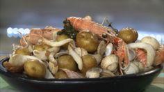 Cocotte de bonnottes de Noirmoutier aux fruits de mer