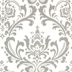 Items similar to Drapery Fabric By The Yard, Upholstery Fabric By The Yard, Traditional Black/White Damask, Duvet Cover Fabric, Slip Cover Fabric Yardage on Etsy Damask Curtains, Drapery Fabric, Linen Fabric, Cotton Fabric, Red Curtains, Chair Fabric, Shower Curtains, Damask Decor, Wall Fabric