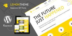 Lemon is a portfolio oriented, high contrast WordPress Theme designed in a clean and minimalistic style. It has a responsive layout that looks great on mobile and tablet devices. The main point of focus is represented by home page slider which scales down automatically depending on the screen resolution. Tags: wordpress, theme, business, clean, corporate, creative, fresh, minimalist, minimalistic, personal, photographer, photography, portfolio, slider, video, yellow.