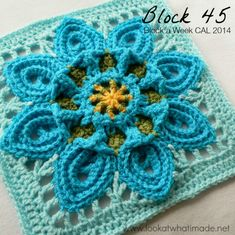 Purifying Puritans Crochet Square......free pattern