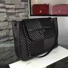 eec6888710c936 Chanel Large CC Crossing Flap Bag in Black Lambskin SHW A93097