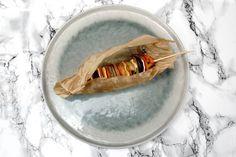 Brochettes d'automne en robe des champs. La recette sur www.eatdesign.eu  #fooddesign #designculinaire #eatdesign