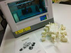 火星探査機キュリオシティ出力完了! 3Dプリンター:Dreamer フィラメント:ABS FLASHFORGE JAPAN