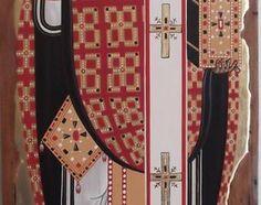 """St. Nicholas"" - 14th century, replica from Munich Icon Museum -"