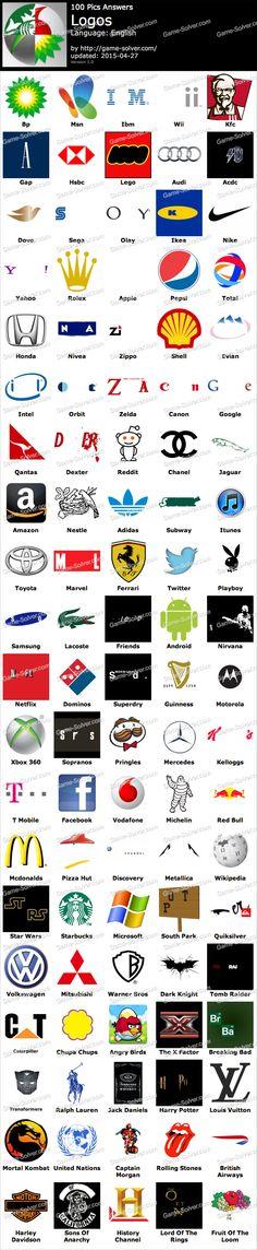 100 Pics Logos