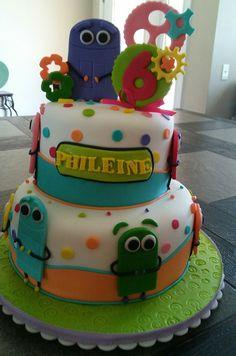 Storybots birthdays cake