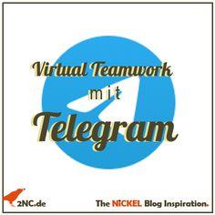 Virtual Teamwork mit Telegram10 Minuten Lesezeit Quiz, Teamwork, Tech Companies, Company Logo, Logos, Inspiration, Fraction Activities, Reading, Biblical Inspiration