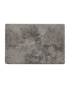 George Home Rubber Back Bath Mat - Grey Glitter £8