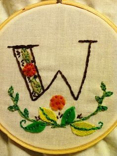 felt and embroidery